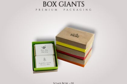 Custom Printed Soap Boxes