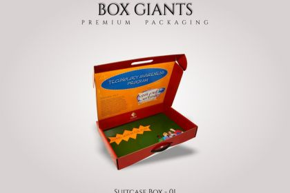 Custom Printed Suitcase Boxes