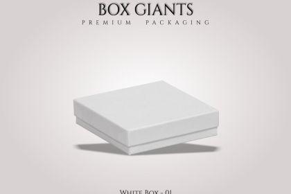 Custom Printed White Boxes
