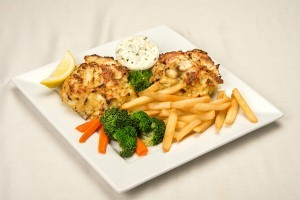 Check out our list of healthy spring vegetables to pair with crab cakes!