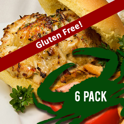 Order your gluten-free crab cakes today!