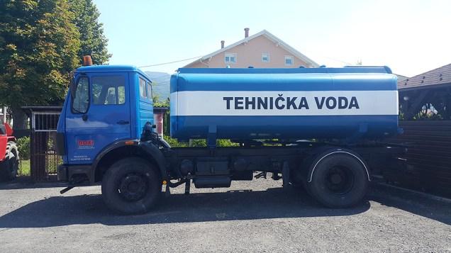 dostava tehničke vode
