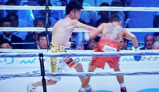 速報)寺地拳四朗が4RKO勝ちで7度目の防衛に成功 VSランディ・ぺタルコリン(WBC世界ライトフライ級タイトルマッチ)
