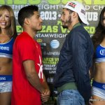 Abner Mares and Jhonny Gonzalez