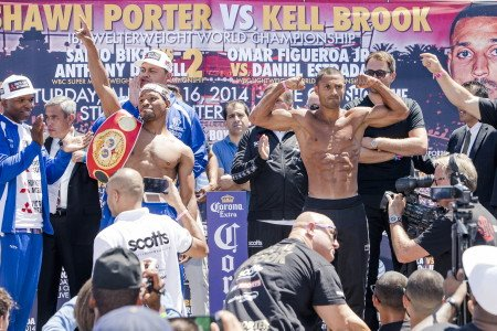 Shawn Porter and Kell Brook