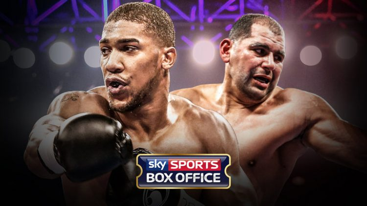 Anthony Joshua vs Eric Molina live on TalkTalk TV