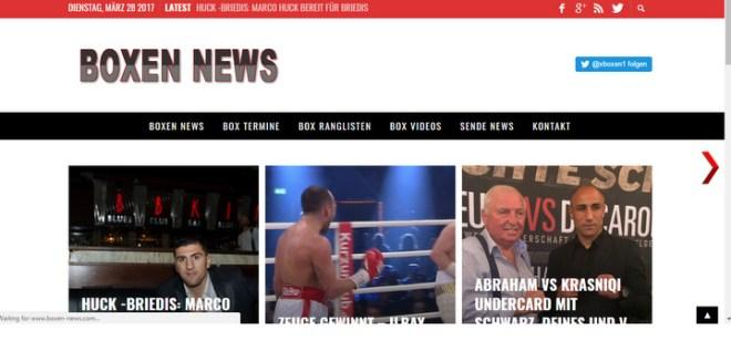 Boxen News