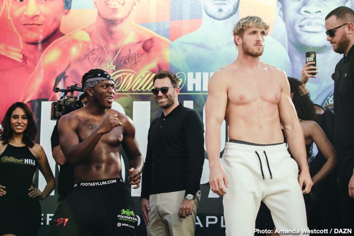 KSI Logan Paul Boxing News Boxing Results