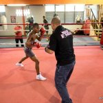 9 ago 2013 Bomba Gonzalez last pre weigh in and training for Giovani Segura 11