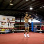 9 ago 2013 Bomba Gonzalez last pre weigh in and training for Giovani Segura 2