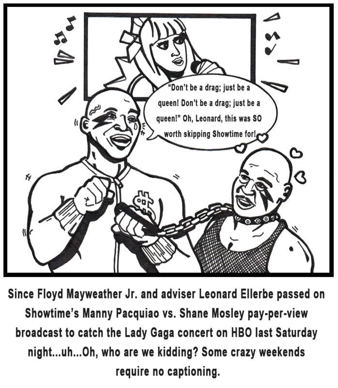 Boxing Humor