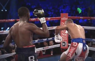 Crawford vs Dulorme - Terence Crawford Rocks Thomas Dulorme With One-Two