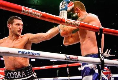 Froch vs Groves II - Carl Froch unloads in George Groves rematch