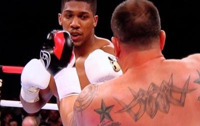 Joshua vs Gavern - Anthony Joshua crushes Jason Gavern