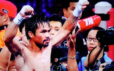 Pacquiao vs Vargas saw Manny Pacquiao lift another world title