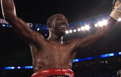 Terence Crawford will be colliding with fellow champion Viktor Postol in July