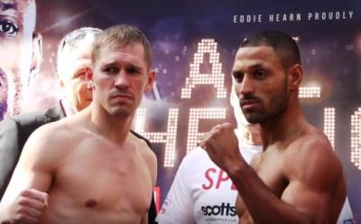 Fight night is set to go following the Brook vs Bizier weigh-in