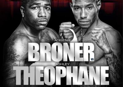 Broner vs Theophane Boxing Banner