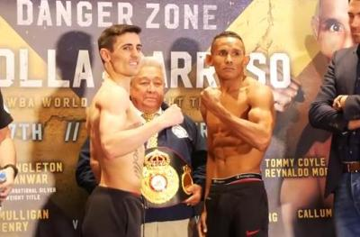 Crolla vs Barroso Manchester Weigh-In