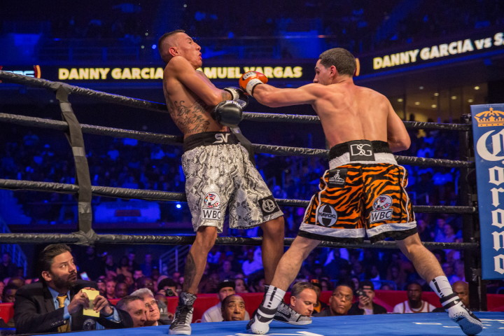 Image result for danny garcia vs samuel vargas