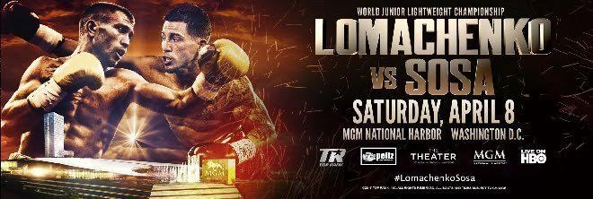 Image result for lomachenko vs sosa