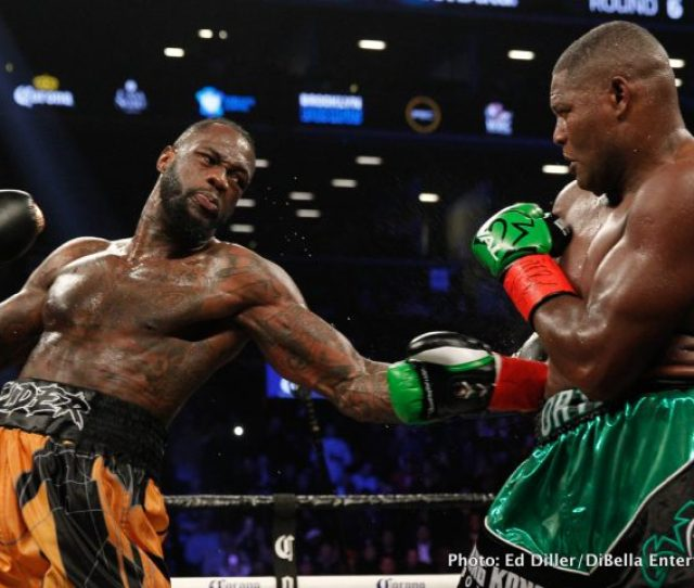 Roach Joshua Knocks Out Deontay Wilder