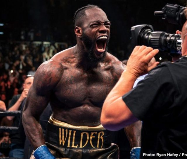 Deontay Wilder Reveals His Three Fight Plan