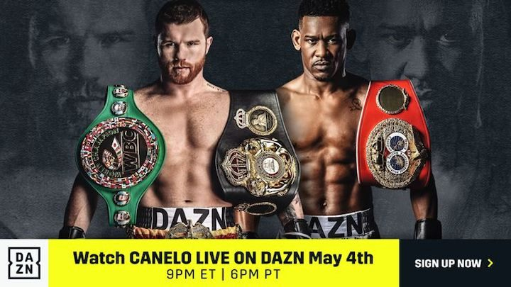 Canelo vs Jacobs - May 4 - DAZN