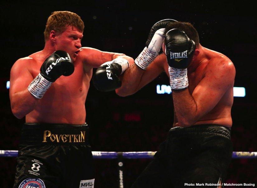 - Latest Alexander Povetkin Tyson Fury Hughie Fury Povetkin vs. Fury