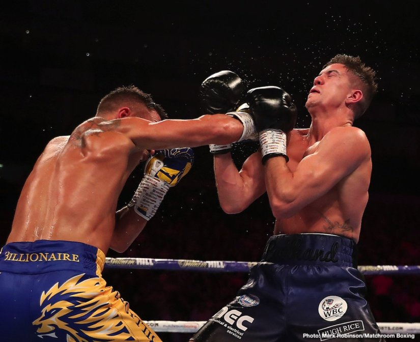 Alexander Povetkin Vasyl Lomachenko Hughie Fury Lomachenko vs. Campbell Luke Campbell Povetkin vs. Fury