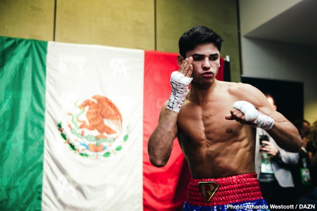 Rolly Romero Says He's Fighting Ryan Garcia In July.