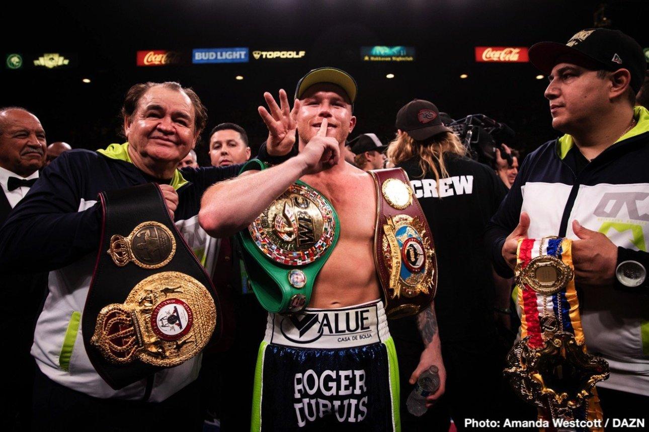 Demetrius Andrade: Canelo Alvarez Turned Down $40M To Fight Me.