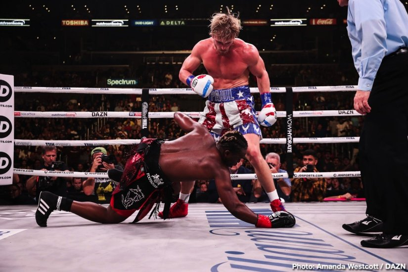 Latest DAZN Jack Reiss KSI KSI vs. Paul Logan Paul