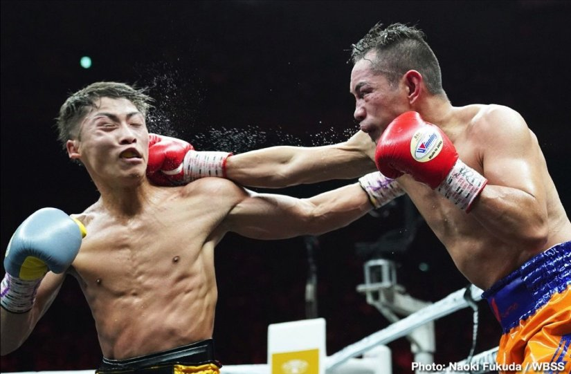 Naoya Inoue Nonito Donaire Inoue vs. Donaire World Boxing Super Series