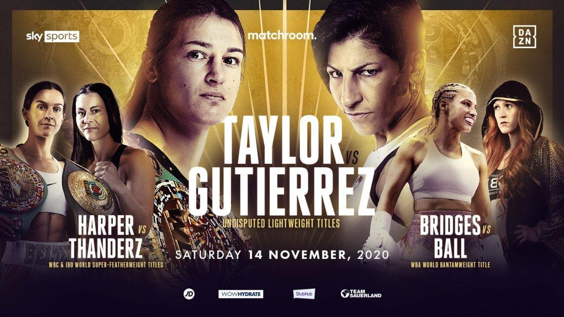 Katie Taylor, Terri Harper And Rachel Ball Tripleheader On Nov.14 ⋆ Boxing News 24