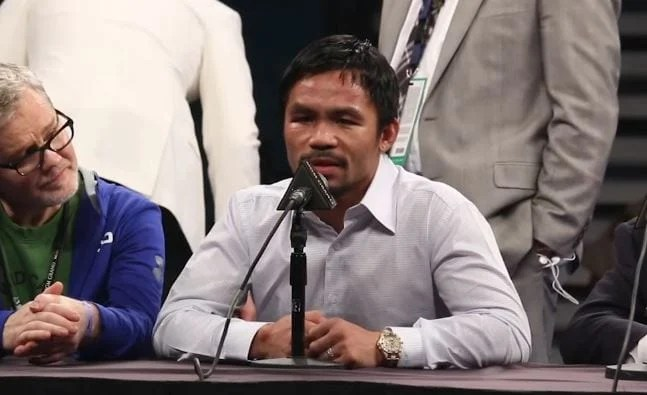 Pacquiao Gives Update On The Status Of His Fight With Matthysse