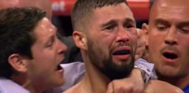 Tony Bellew's Emotional Reaction To Rocky Fielding Becoming World Champion