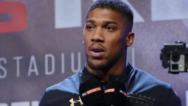 Anthony Joshua Reveals