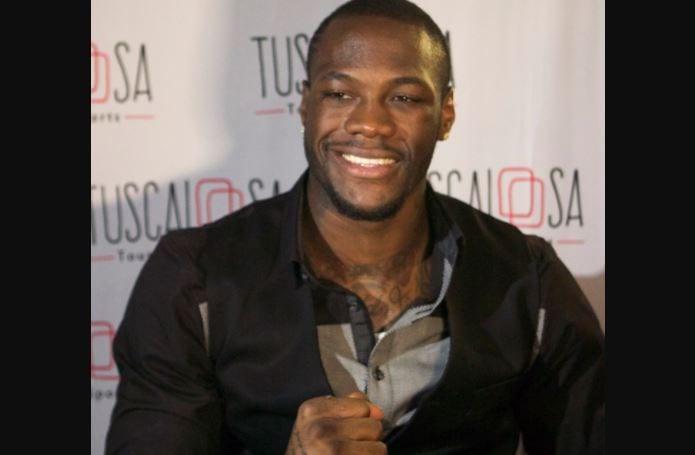 Deontay Wilder offers