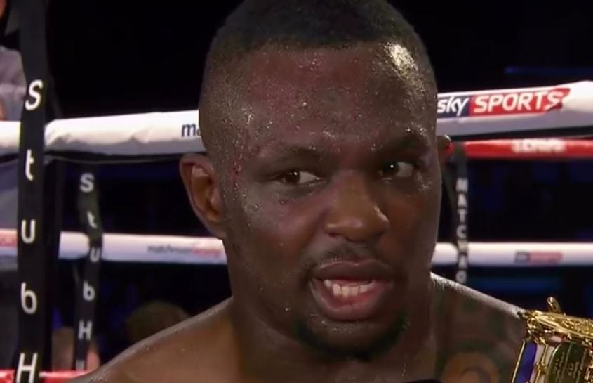 Dillian Whyte Next Fight