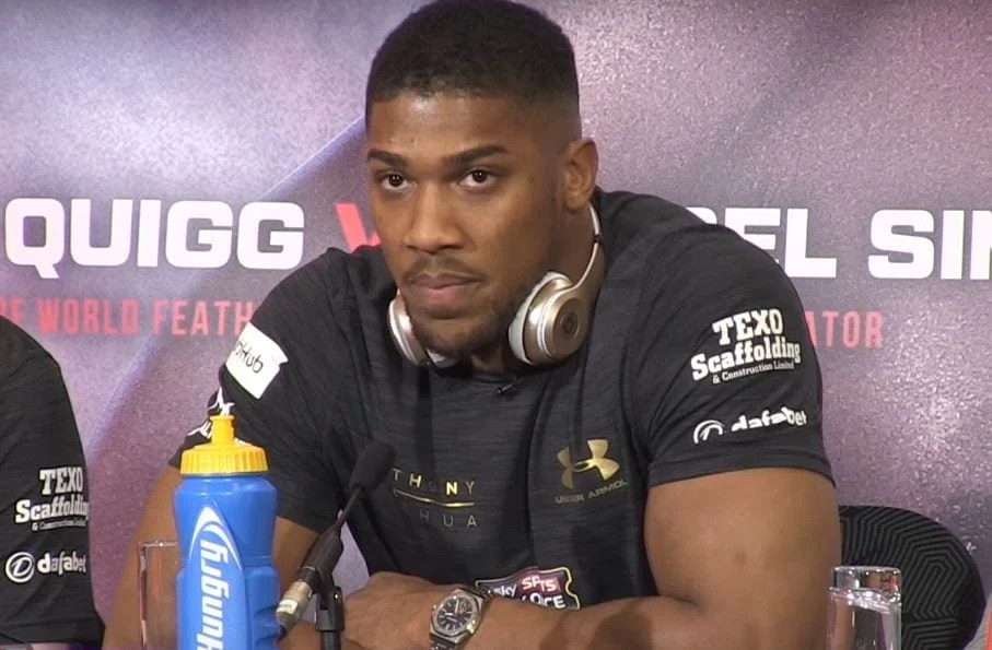 People Are Not Happy With Anthony Joshua Replacement Opponent