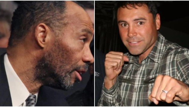 Al Haymon and Oscar De La Hoya