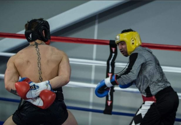Conor McGregor Shows Off Boxing Skills, Worrying Stuff