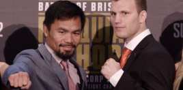 Jeff Horn Calls Out Pacquiao