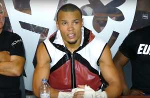 Eubank Jr Beating Abraham