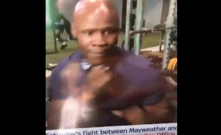 Chris Eubank Senior Gets Caught Up In Hilarious Video Clip