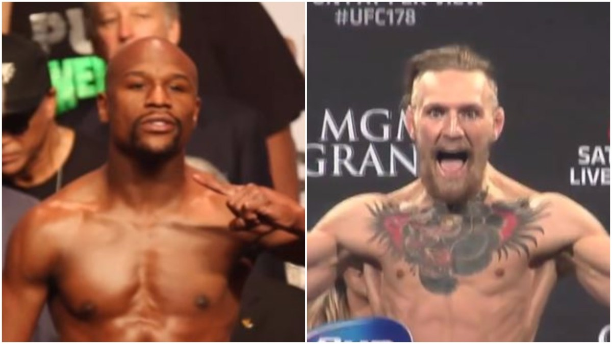 Mayweather Reveals McGregor Could Miss The Weight