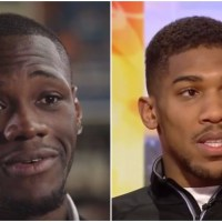Deontay Wilder Explains How Joshua Is Part Of His Ultimate Goal