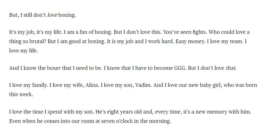 gennady golovkin talks