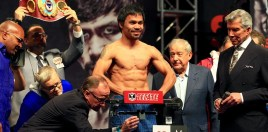 Pacquiao Drops Sparring Partner Ahead Of Matthysse Fight